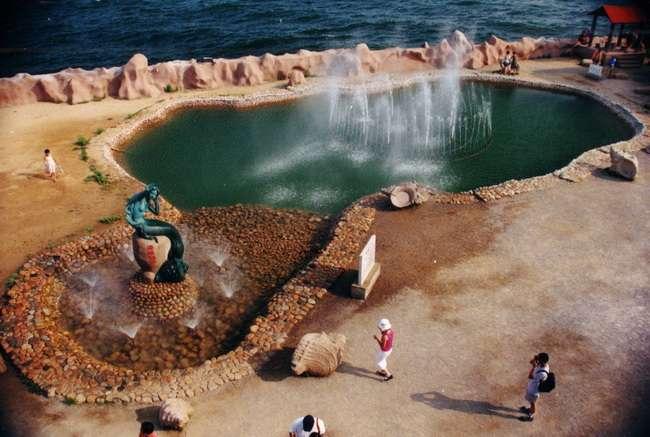 仙螺岛海中喷泉