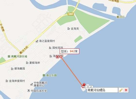 仙螺岛地图