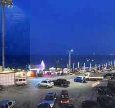 老虎石公园夜景停车场